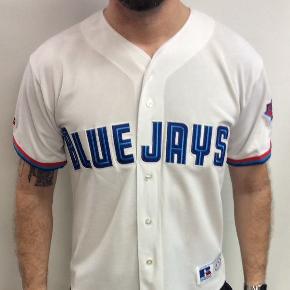 Russell Athletic Other - Vintage 90's Toronto Blue Jays Baseball Jersey